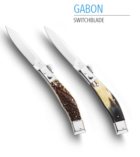 Closable knife handmade in italy by Coltellerie Lepre, Maniago. Stainless steel blades, high quality finishes